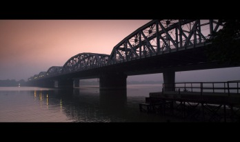 Framegrab from film BRIDGE