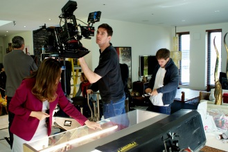 Behind the scenes on one of the latest BBC trails.