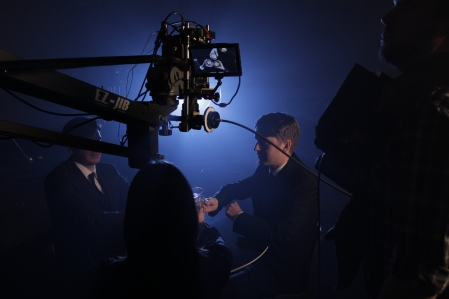 Filming Commercial