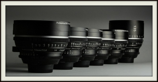 Our new rehoused set of Nikon primes
