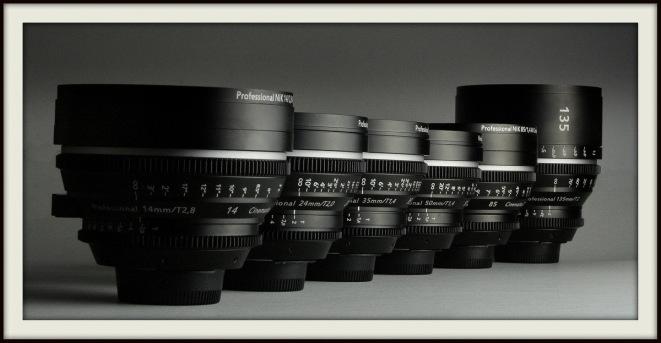 Our new rehoused set of Nikon primes