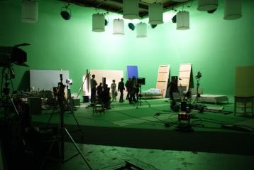 Greenscreen promo for BBC