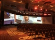 Vision Express 34 meter projection